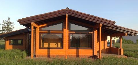 Дом из клееного бруса своими руками