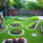 Ландшафтный дизайн двора частного дома: стильное оформление вашего участка