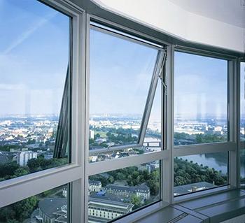 Окно с алюминиевым профилем