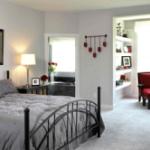 Оригинальные идеи зонирования гостиной и спальни