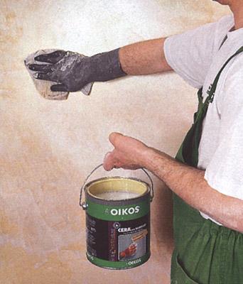 Сделать воск своими руками для штукатурки