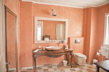 Венецианская штукатурка для ванной комнаты
