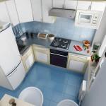 Идеи современного дизайна кухни маленького размера