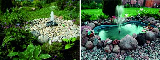 Примеры декорирования фонтана
