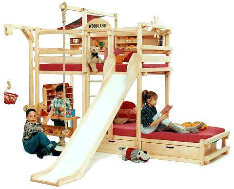 Для каждого ребенка должна быть организована своя территория
