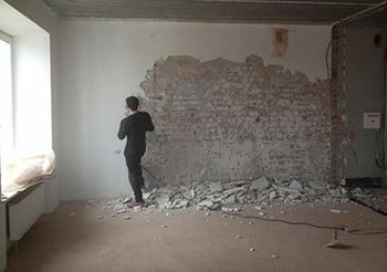 Подготовка стены перед выравниванием