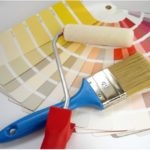 Способы окраски стен в квартире