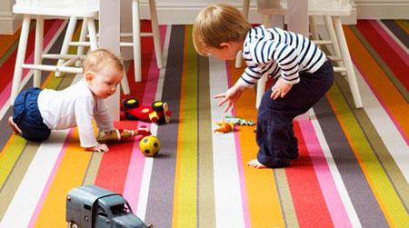 Выбор ковролина в детскую
