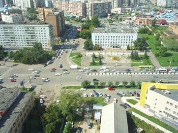 Вид из окна с 22 этажа