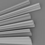 Как правильно приклеить потолочный плинтус (галтель)