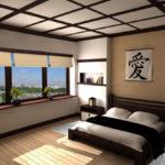 Дизайн спальни в японском стиле: простота и гармония