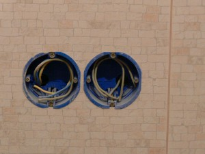 Подрозетники при монтаже электропроводки
