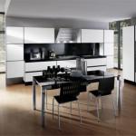 Тонкости оформления кухни в стиле хай тек