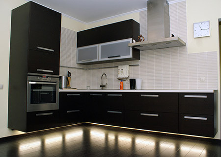 Парящая кухня хай тек