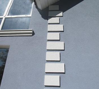Штукатурка камешковая на фасаде
