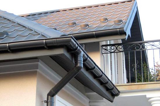Водоотвод на крыше