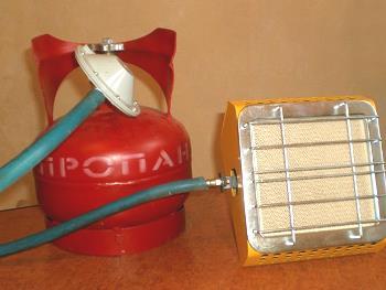 Газовый ИК-обогреватель