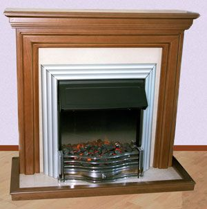 Fireplace portal with your own hands