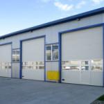 Промышленные ворота: виды, конструкции, применение