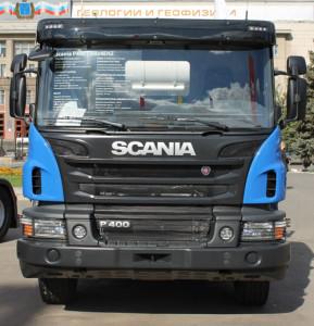 Бетоносмеситель Scania-P400-CB8X4ESZ
