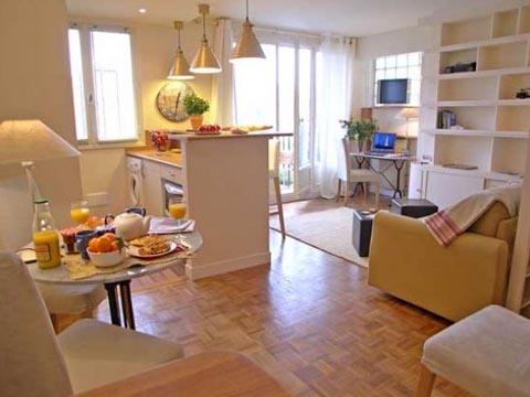 дизайн интерьера маленькой однокомнатной квартиры