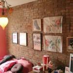 Кирпич в интерьере квартиры — от простоты к шику
