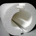 Скорлупа из полистирола для утепления труб