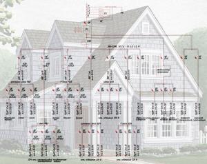 проект электроснабжения частного дома (пример)