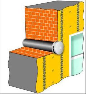 Пример установки клапана инфильтрации воздуха