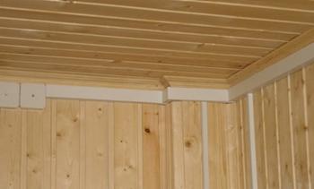 Кабель каналы в деревянном доме