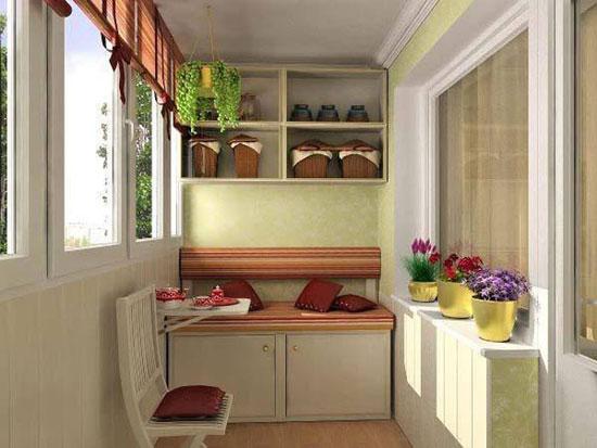 Красивый теплый балкон могут стать жилым помещением