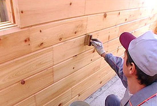 Лакокрасочное покрытие стен на балконе