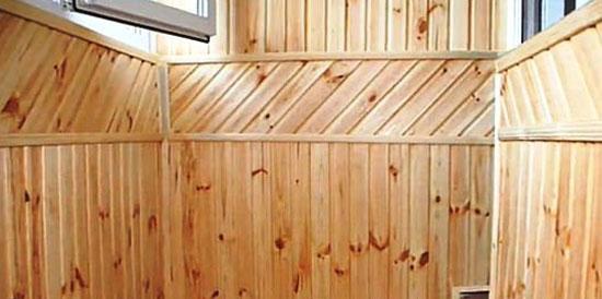 Облицовка стен вагонкой может быть выполнена различными способами