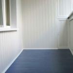 Обшивка лоджий и балконов пластиком