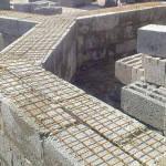 Технология армирования и кладки стен из пеноблоков