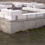Устройство фундаментов под дом из пеноблоков
