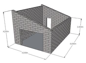 Расчет необходимого количества для постройки