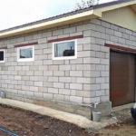 Как рассчитать количество пеноблоков на гараж при строительстве