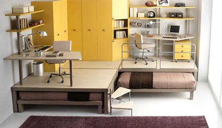 Компактная мебель для маленькой квартиры