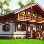 Комбинированные дома из пеноблоков и дерева: особенности строительства