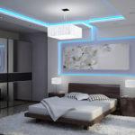 Светодиодная подсветка потолка: выбор ленты и монтаж своими руками