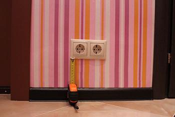 Высота розеток в коридоре