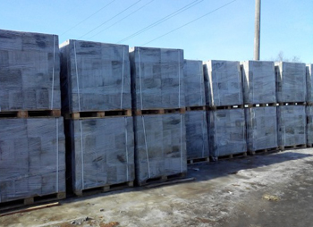 Заводская упаковка стройматериала