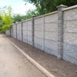 Изготовление бетонного забора: как сделать своими руками