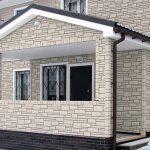Фибробетонные фасадные панели для отделки стен дома