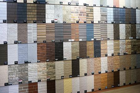 Разнообразие фиброцементных фасадных панелей