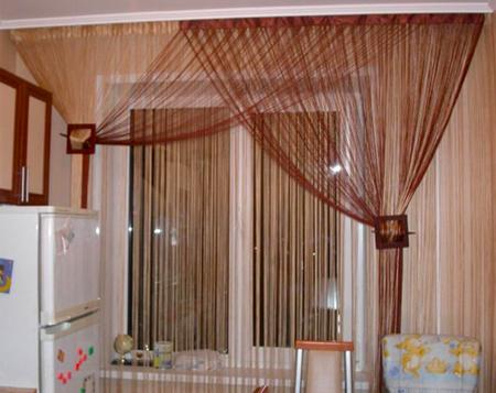 Создаем красивые шторы на кухню своими руками ЭтотДом
