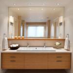 Освещение в ванной комнате своими руками: варианты светильников и дизайна