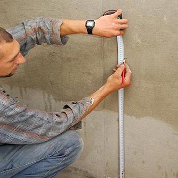 Разметка стен под проводку