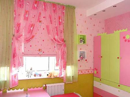 Рулонная штора в детской